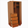 Chiffonier Flat  2-Doors 4-Drawers Ridge 3(VF)