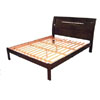 Roberta Platform Bed In Tobacco Finish (AI)