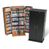 Grande Tall Locking Media Storage Cabinet VS-0287_ (PP)