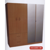 Mirrored 4-Door And 2-Drawers Wardrobe W448M2(WPFS150)