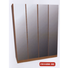 4-Door Fully Mirrored Wardrobe W448M(WPFS150)