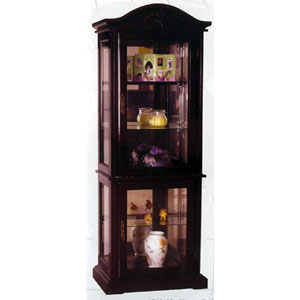 Cherry Curio Cabinet 1710-10 (WD)
