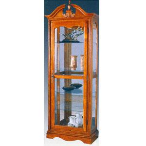 Oak Or Cherry Curio Cabinet 1719-40/10 (WD)