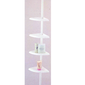Shower Corner Rack With 4 Holders 2810 (PJFS8)