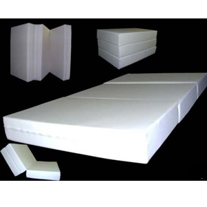 Folding Mattress 6 In Thick Twin Size Trifold Foam Beds