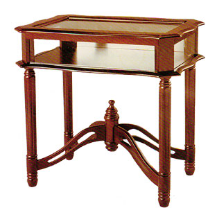 Glass Top Curio Table 4638_(ITMFS65)