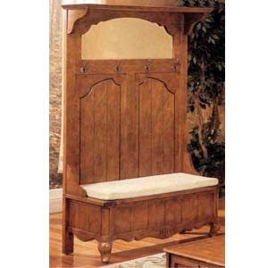 Hall Trees Antique Finish Hall Tree 4375 Co