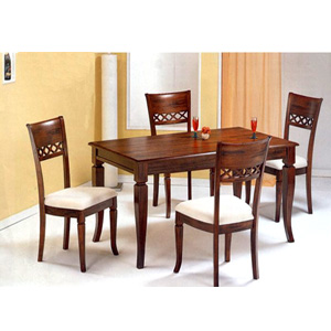 5-Pc Tobacco Oak Finish Dinette Set 4441/20 (CO)