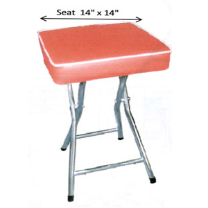 Heavy Duty Bar Height Padded Chair 702(SH)