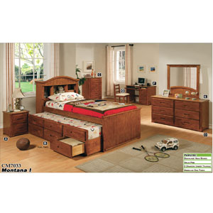 Montana I Captain Trundle Bed CM7033_ (IEM)