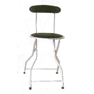 Folding Chairs Heavy Duty Folding Stool With Back 703 Sh