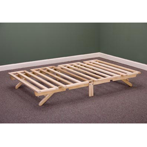 solid wood folding bed frame 797_kdfs