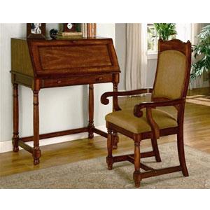Roll Top Secretary Desks Solid Wood Secretary Desk In