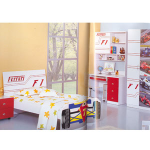 Twin Size Sports Car Bed 932(PF)