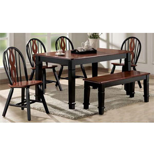 dining room and dinette sets 6 pc chicago dining set 9870 72 73 a