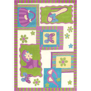 Rug KI009 Lemon Lime (HD) Kidz Collection