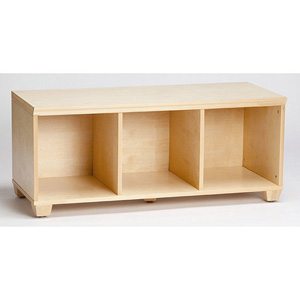 Benches Solid Wood VP Home I Cubes Storage Bench 1312568