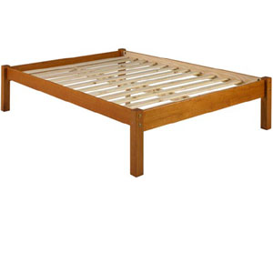 solid wood montana platform bed pifs40