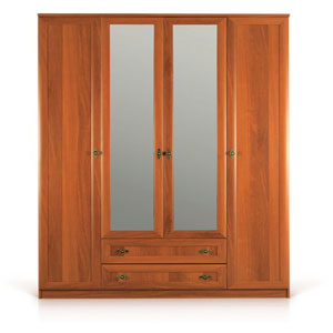 4-Door Wardrobe With 2 Draws SB-074(ACE)