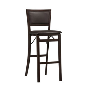 Triena - Pad Back Folding Bar Stool 01832ESP(LNFS)