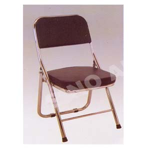Chrome Folding Chair YXY-143-BLK (SA)