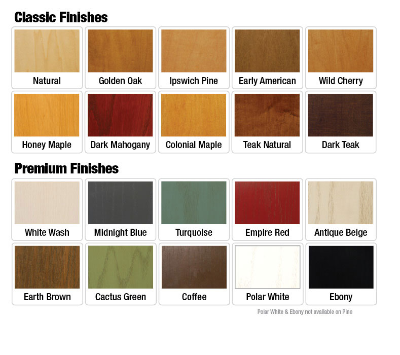 Pin Wood Stain Color Chart On Pinterest