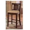 Rattan Inlay Bar Chair 100119 (CO)