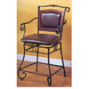 Scroll Motif Bar Stool 100160 (CO)