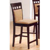 Cappuccino Finish Dining Chair 100219 (CO)