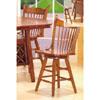 Pub Chair In Oak Finish 100529 (CO)