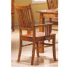 Solid Hardwood Mission Arm Chair 100623 (CO)