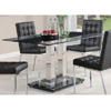 Rolien Chrome Dining Table 102311(CO)