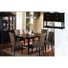 Malibu Dining Set 1233-42/70 (WD)