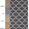 Handmade Alexa Moroccan Trellis Wool Rug 14283154(OFS310)