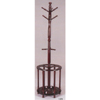 Cherry Finish Coat Rack With Umbrella Stand 5104(PJFS20)