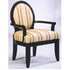 Cameo Back Accent Chair 1664 (WD)