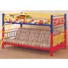Multi-Color Twin/Futon Bunk Bed 2049 (CO)