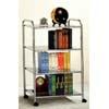 3 Tier Bookcase In Chrome 2813(PJFS15)