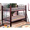 Twin/Twin Convertible Bunk Bed 2182B (IEM)