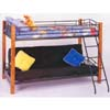 Twin/Futon Wood and Metal Bunk Bed 2249 (CO)