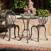Aluminum Copper Bistro Set 232237(OFS)