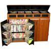 Top Load Media Cabinet 2362(VHFS)