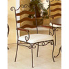 Dining Arm Chair With Wood Back 2472N (CO)