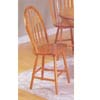 Oak Arrow Back Windsor Chair 2482OAK (A)