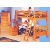 Honey Pine Bunk Bed Set 250-170 (PR)