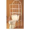 White 3 Tier Bathroom Shelf 2511 (CO)