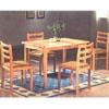 5 Pcs Pk All  Solid Wood Dinnette Set  PCH264 (ESu)