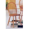 Oak Finish Windsor Chair 2613OAK (A)