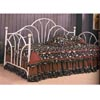 White Fan Back Daybed With Porcelain Knobs 2632 (CO)