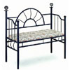 Sunburst Design Bench With Tapestry Seat 2646 (CO)
